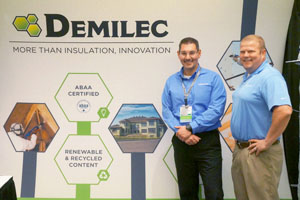 Spray Foam Insider Article ABAA Trade Show Demilec