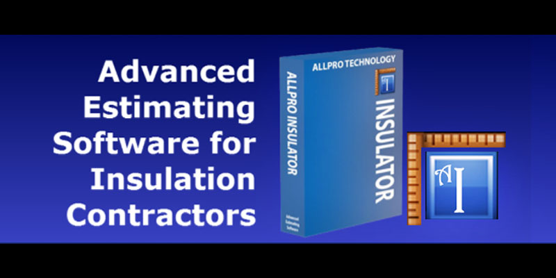 AllPro Insulation Contractor Estimating Software