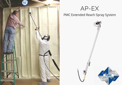 Spray Gun PMC Polymac Spray Foam Insider