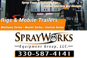 Find Spray Foam Insulation Equipment Ohio SprayWorks Equipment Group
